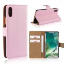 iPhone Xs/X 5,8 Etui m/kortlommer Genuine Lys Rosa thumbnail