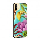 iPhone Xs/X 5,8 Deksel Flower Pink/Yellow thumbnail