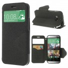 Slimbook Etui for HTC One (M8) Roar Svart thumbnail