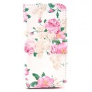 iPhone 5/5s/SE Etui m/kortlommer Art - Rose thumbnail