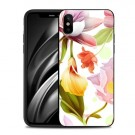 iPhone Xs/X 5,8 Deksel Flower Pink/Yellow/Red thumbnail
