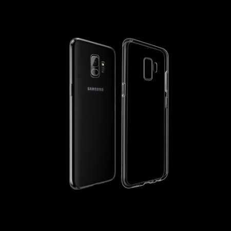 Galaxy S9 Deksel Transparent