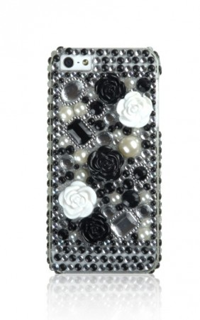 Deksel til iPhone 5 Bling Blomst 2