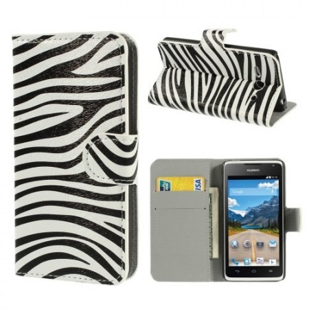 Etui for Huawei Ascend Y530 Lommebok Zebra