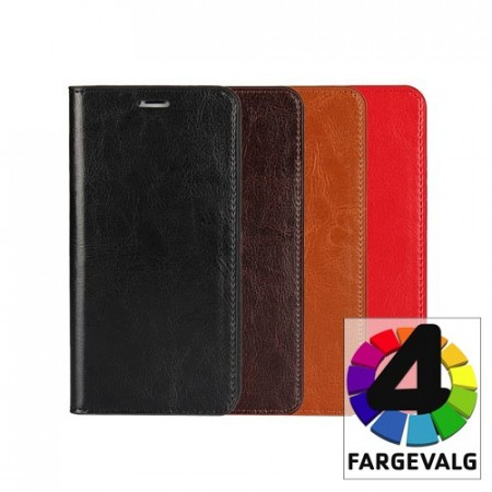 Galaxy Note 10+ (Pluss) Etui m/kortlommer Genuine Pro
