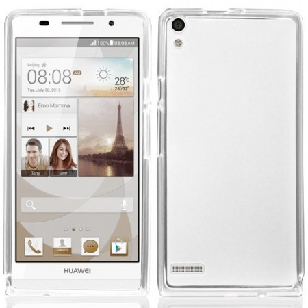 Mykplast Deksel for Huawei Ascend P6 Transparent
