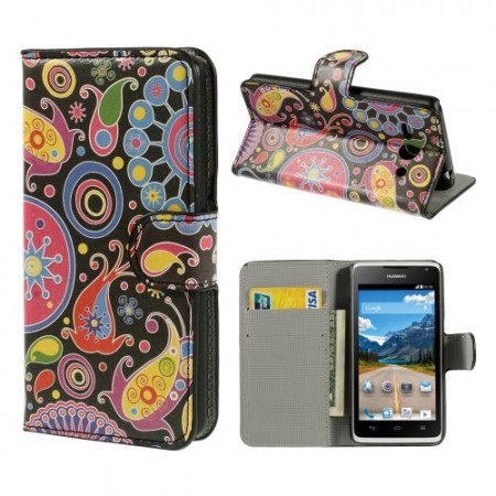 Etui for Huawei Ascend Y530 Lommebok Hippie 1