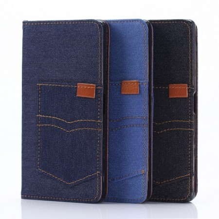 Sony Xperia X Etui Denim Pocket