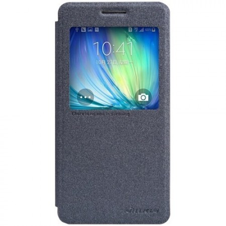 Slimbook Etui for Galaxy A5 Sparkel Svart