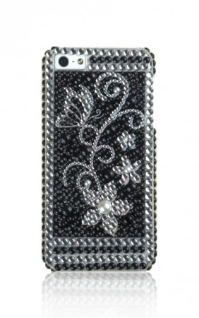 Deksel til iPhone 5 Bling Blomst 3
