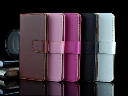 Lommebok Etui for Xperia Z3+ Genuine