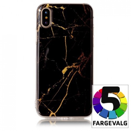 iPhone Xs/X 5,8 Deksel Marmor 2