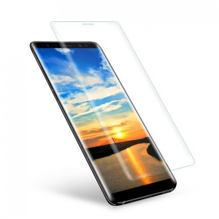Heldekkende Skjermbeskytter av herdet glass for Galaxy Note 8