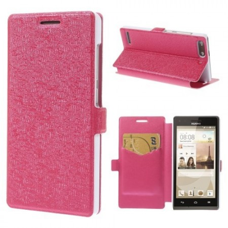Slimbook Etui for Huawei Ascend G6 Rosa