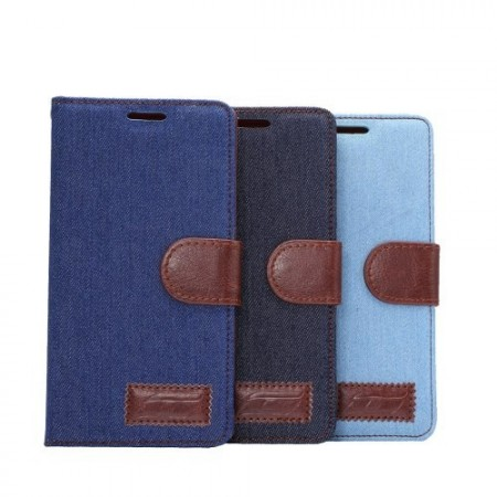 Lommebok Etui for Sony Xperia Z3+ Denim