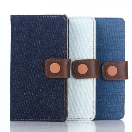 Lommebok Etui for Sony Xperia Z5 Denim