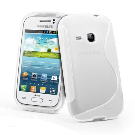 S-line Deksel for Galaxy Young (S6310) Transparent