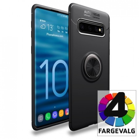 Galaxy S10+ (Pluss) Deksel m/ metallplate