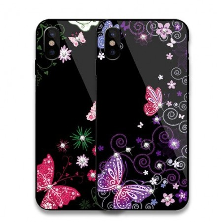 iPhone Xs/X 5,8 Deksel Dekor Butterfly