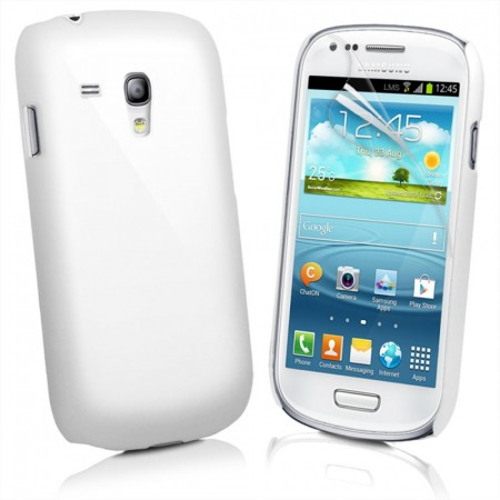 Deksel for Samsung Galaxy S3 Hvit