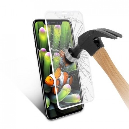 Heldekkende Skjermbeskyttere av herdet glass for iPhone Xs/X 5,8