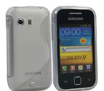 S-line Deksel for Galaxy Y Blank
