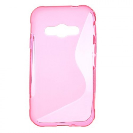 Deksel for Samsung Galaxy Xcover 3 S-Line Rosa