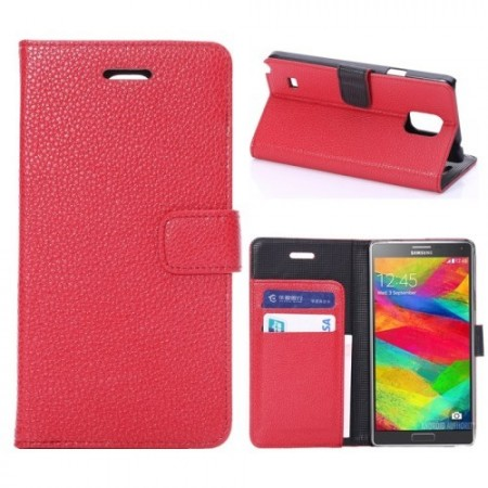Etui for Galaxy Note 4 Classic Rød