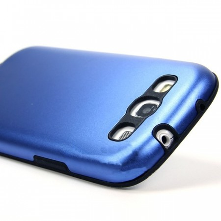 Armadillo Case Deksel for Galaxy S3 Blå