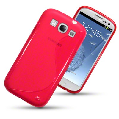 S-line Deksel for Samsung Galaxy S3 Rosa