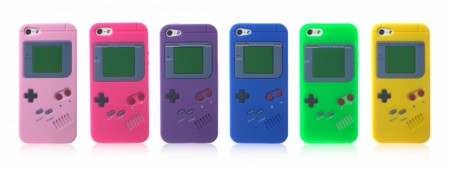 Retro Gameboy Deksel iPhone 5