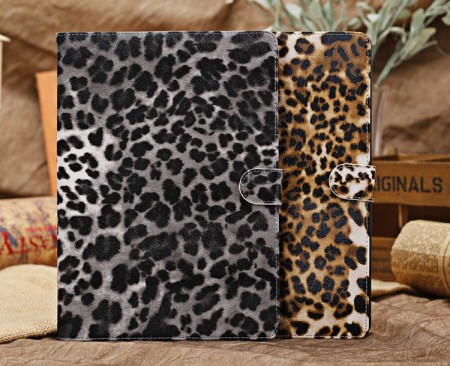 Mappe Etui for iPad Air Leopard