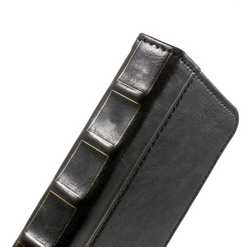 Bok Etui m/kortlommer for iPhone 6 Svart