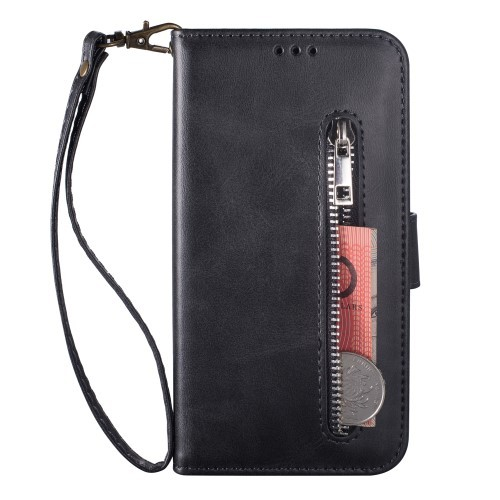 "iPhone 11 6,1"" Lommebok Etui Zipper Svart"