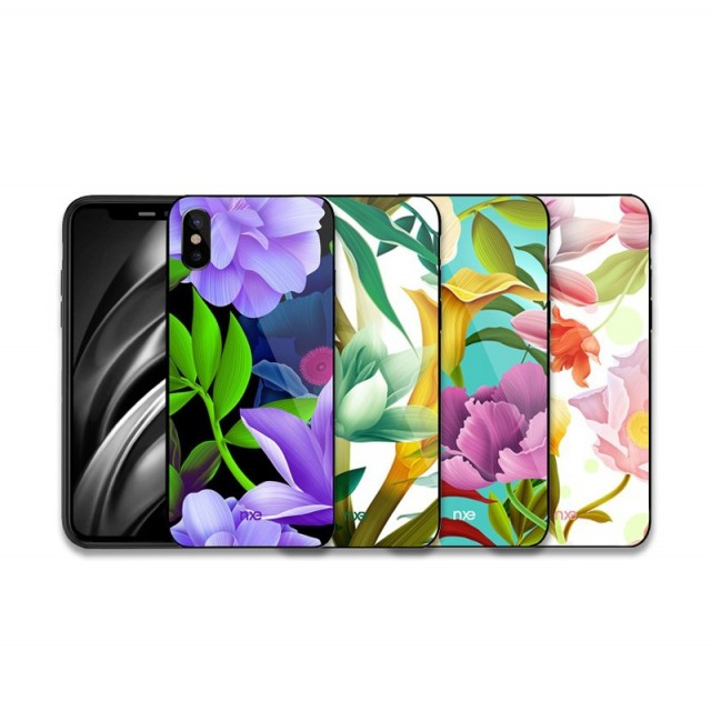 iPhone Xs/X 5,8 Deksel Flower