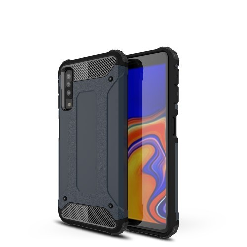 Galaxy A7 (2018) Armor Case Midnattsblå