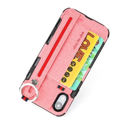 iPhone XR Deksel Ultimate Case Rosa