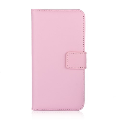 iPhone Xs/X 5,8 Etui m/kortlommer Genuine Lys Rosa