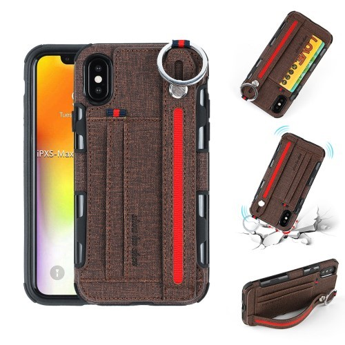 iPhone Xs Max Deksel Ultimate Case Kaffebrun
