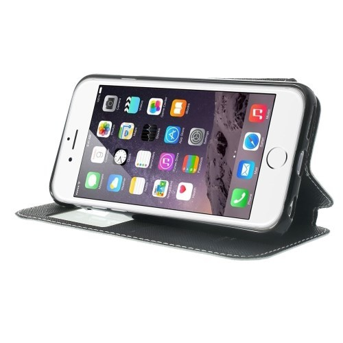 Etui for iPhone 6 Roar m/Skjermvindu Hvit