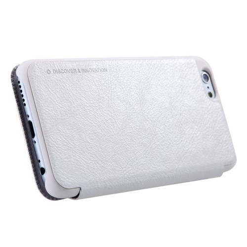 Slimbook Etui for iPhone 6/6s Qin Hvit