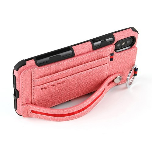 iPhone Xs Max Deksel Ultimate Case Rosa