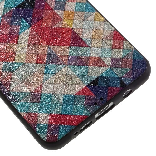 Mykplast deksel for Galaxy A5 2016 Art Colorful Checkers