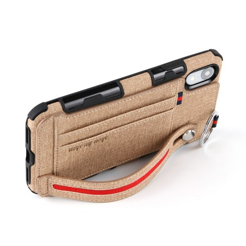 iPhone XR Deksel Ultimate Case Khaki