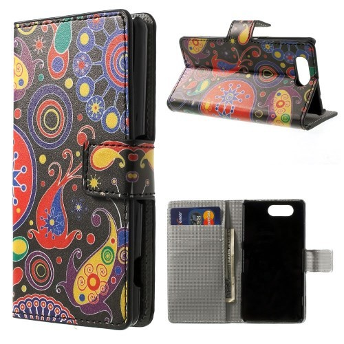 Lommebok Etui for Sony Xperia Z3 Compact Hippie 1