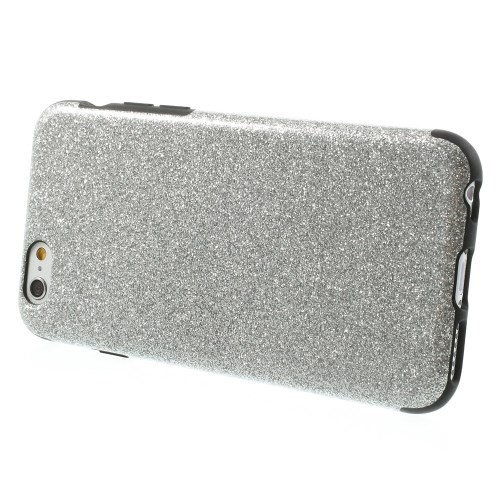 Deksel for iPhone 6/6s Glitter Sølv