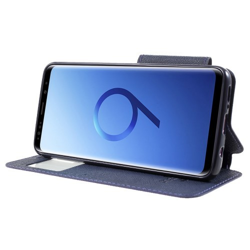 Slimbook Etui for Galaxy S9 Roar m/Skjermvindu Lilla