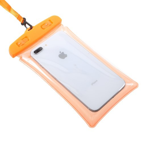 Vanntett Mobiletui XL Orange
