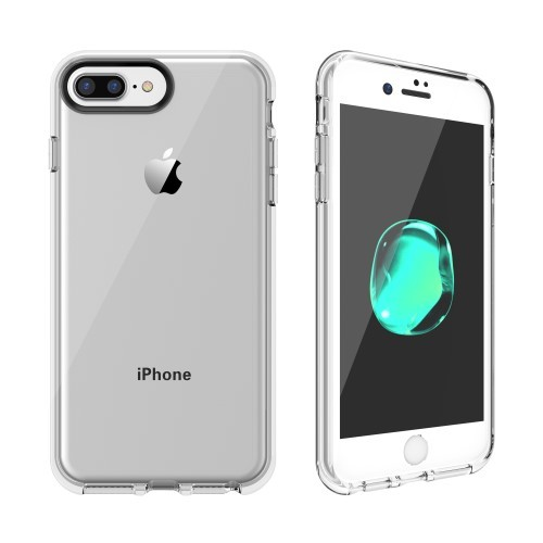 "iPhone 6 Pluss 5,5"" / iPhone 7 Pluss 5,5"" / iPhone 8 Pluss 5,5"" Deksel Transparent"