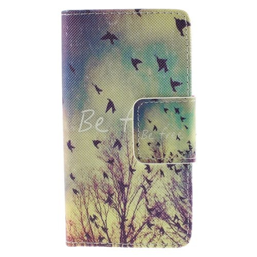 Lommebok Etui for Xperia Z5 Compact Art Be Free